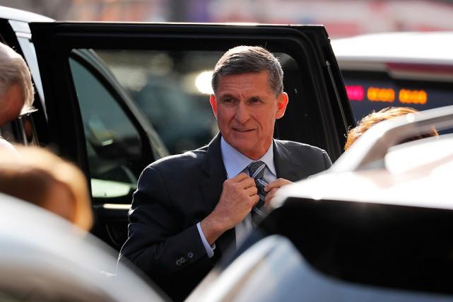 L'ancien conseiller à la sécurité de Donald Trump,Michael... (PHOTO JONATHAN ERNST, REUTERS)