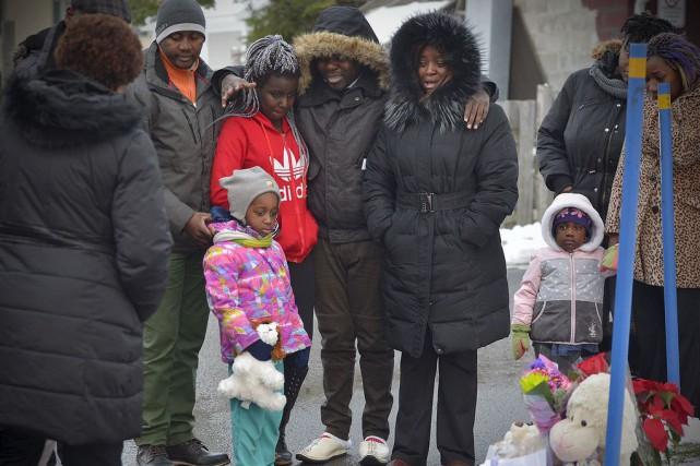 La famille de la petite Michelle Solaye s'est...