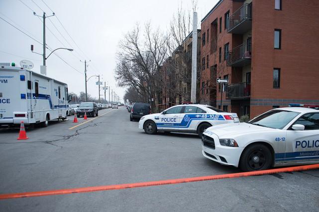 Ces meurtres sont survenus dans un appartement de... (PHOTO CATHERINE LEFEBVRE, COLLABORATION SPÉCIALE)