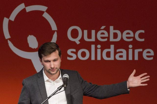 Gabriel Nadeau-Dubois... (PHOTO GRAHAM HUGHES, ARCHIVES LA PRESSE CANADIENNE)