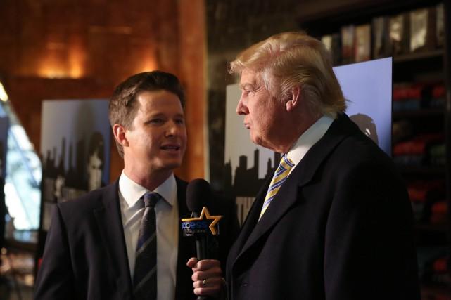 L'ancien animateur américain de NBC Billy Bush et... (AFP)
