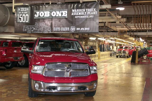 Il s'est vendu 2,6 fois plus de camions... (Photo : Fiat-Chrysler)