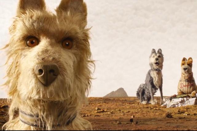 Le nouveau film d'animation du réalisateur Wes Anderson, Isle of Dogs,... (CAPTURE D'ÉCRAN)