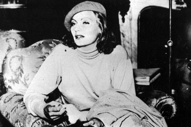 Greta Garbo en 1932... (Photo archives AP)