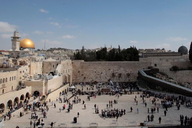 Les dirigeants palestiniens estiment que Jérusalem-Est, annexée par... (PHOTO REUTERS)