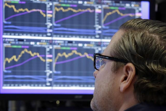 La Bourse de New York, en proie à quelques doutes sur la réforme fiscale et ses... (Photo AP)