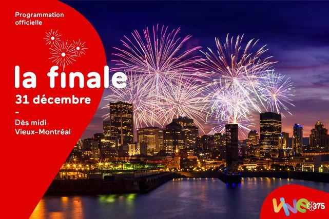 Cette année, le meilleur party du jour de l'An en ville aura lieu dans le...
