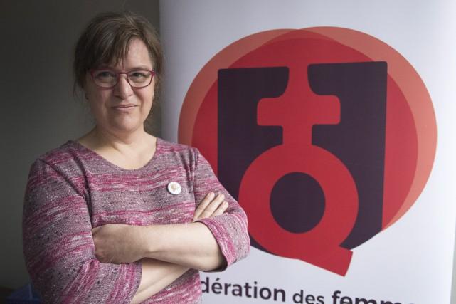 La nouvelle présidente de la Fédération des femmes... (Photo Ryan Remiorz, PC)