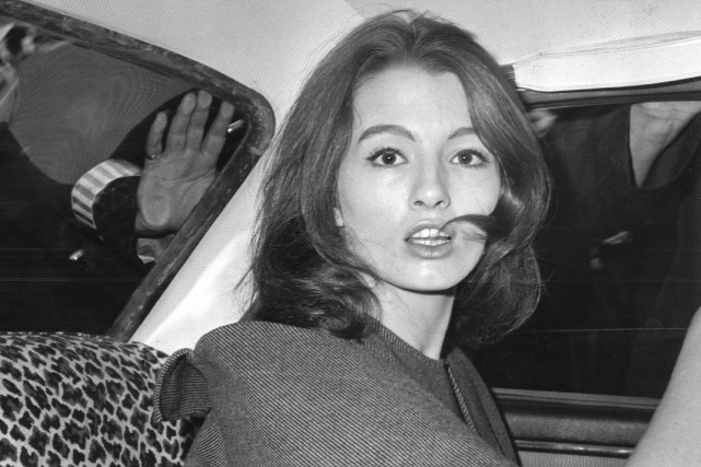 Christine Keeler en juillet1963.... (ARCHIVES AP)