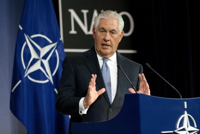 Le secrétaire d'État américain Rex Tillerson recontrera le... (AP)