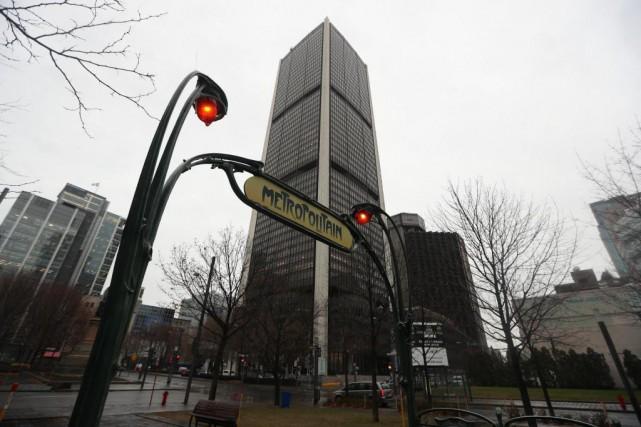 Inaugurée en 1965, la Tour de la Bourse... (Photo Martin Chamberland, La Presse)