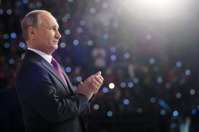 Vladimir Poutine... (PHOTO AP)