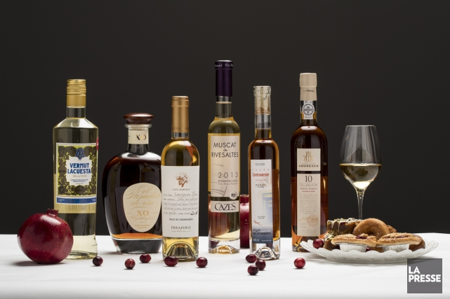 Le temps des Fêtes est l'occasion idéale de se réapproprier le vin de dessert.... (PHOTO HUGO-SÉBASTIEN AUBERT, LA PRESSE)