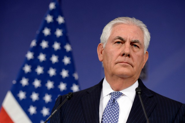 Rex Tillerson... (PHOTO THIERRY CHARLIER, AGENCE FRANCE-PRESSE)