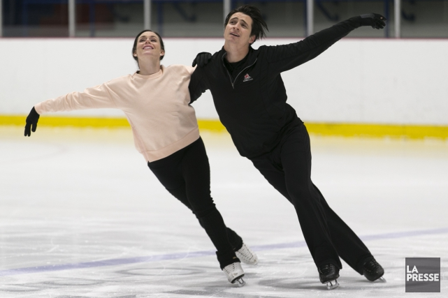 Tessa Virtue et Scott Moir... (Photo François Roy, La Presse)
