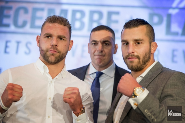 Billy Joe Saunders et David Lemieux vont s'affronter... (Photo Marco Campanozzi, archives La Presse)