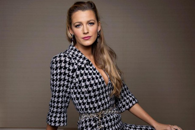 L'actrice Blake Lively s'est blessée lors du tournage... (photo Taylor Jewell, archives associated press)