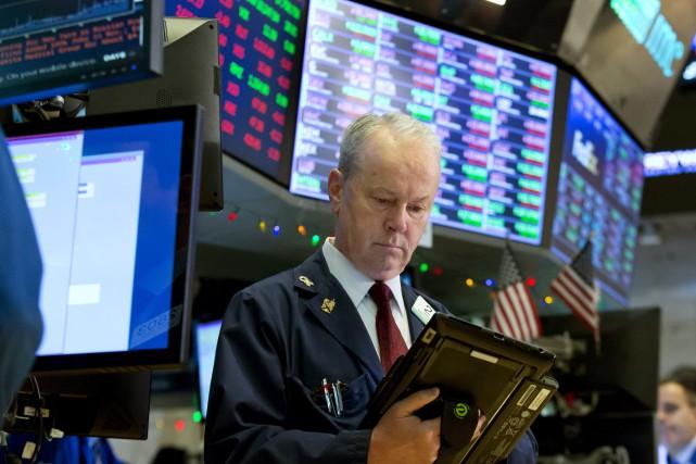 Le bitcoin a encore volé la vedette sur les marchés financiers, mercredi. La... (Photo AP)