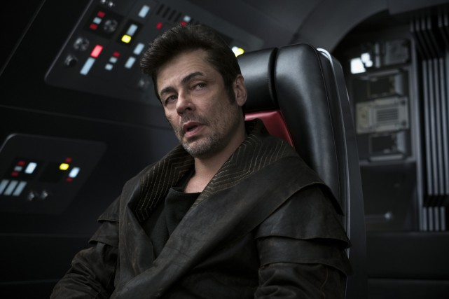 Benicio del Toro dans Star Wars: The Last... (Photo fournie par Lucasfilm)