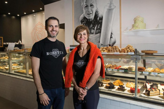 Rocco et Maria Cammalleri, les propriétaires du nouveau... (PHOTO ROBERT SKINNER, LA PRESSE)