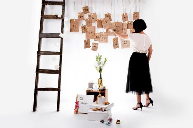Le calendrier de l'avent de Lili Graffiti... (Photo fournie par Lili Graffiti)
