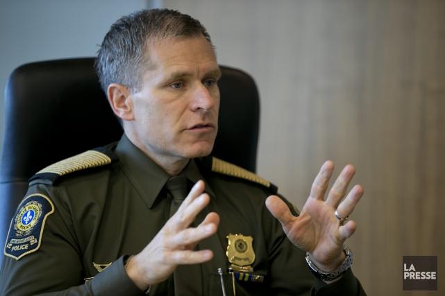 Le directeur général de la Sûreté du Québec,... (Photo David Boily, archives La Presse)