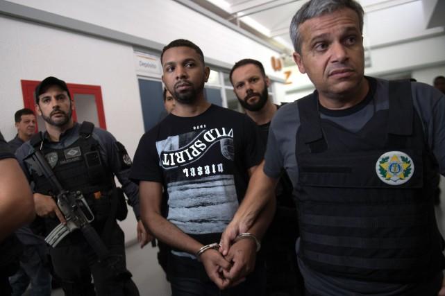 Soupçonné d'être le chef du trafic de drogue... (PHOTO AFP)