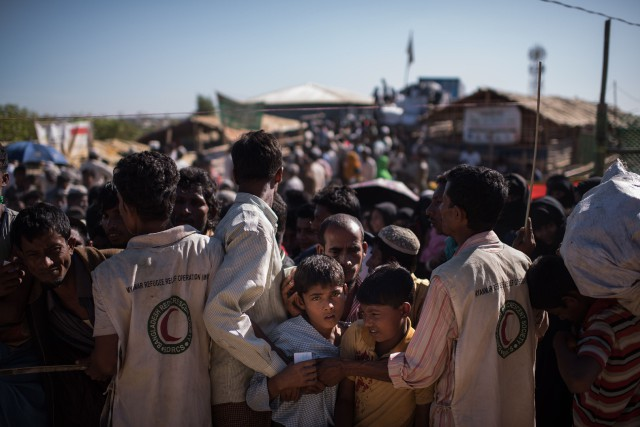 Le sentiment anti-Rohingya s'est accentué en Birmanie avec... (AFP)