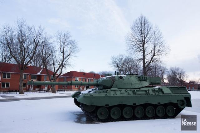 Les militaires peuvent être appelés à déménager plusieurs... (PHOTO EDOUARD PLANTE-FRÉCHETTE, LA PRESSE)