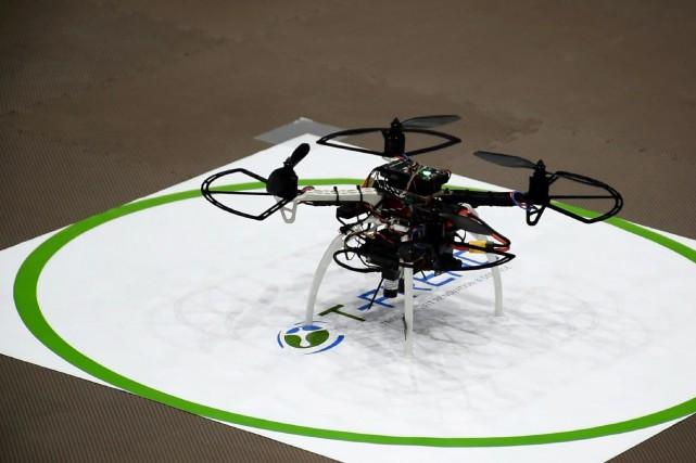 Le drone T-Frend (photo) rôde autour de ceux... (AFP)