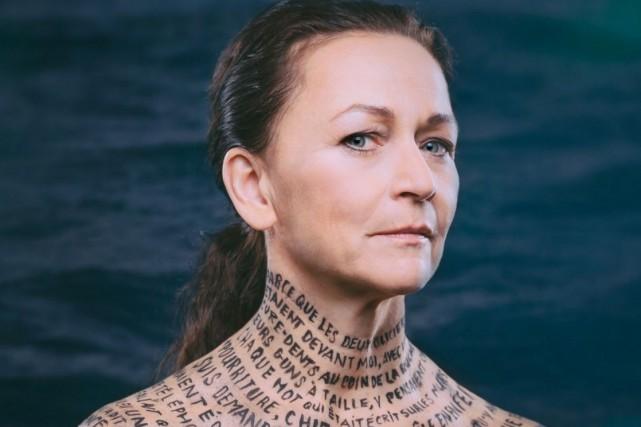 Sylvie Drapeau dans Le cas Joé Ferguson.... (Photo tirée du site web du Trident)