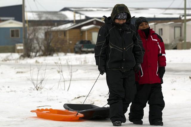Il y a des avis d'ébullition d'eau en... (Photo Frank Gunn, archives REUTERS)