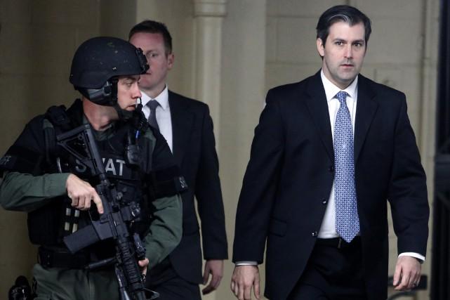 Un premier procès non fédéral de Michael Slager... (ARCHIVES AP)