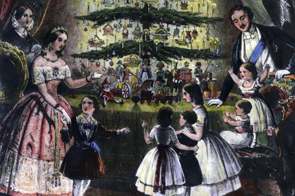 Le couple royal influença grandement les traditions britanniques... (Photo archives du Canada)