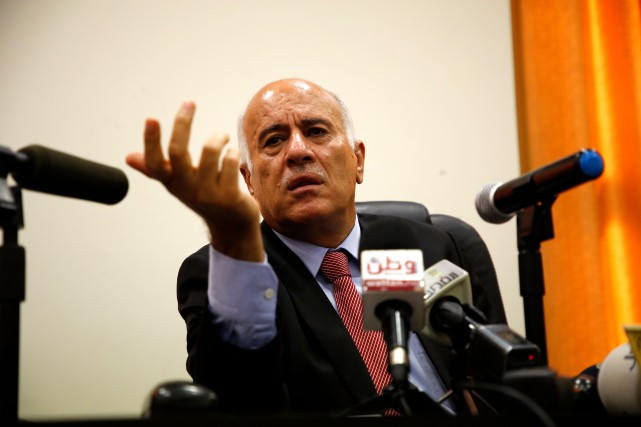 Jibril Rajoub,secrétaire général du Comité central duFatah.... (ARCHIVES AFP)