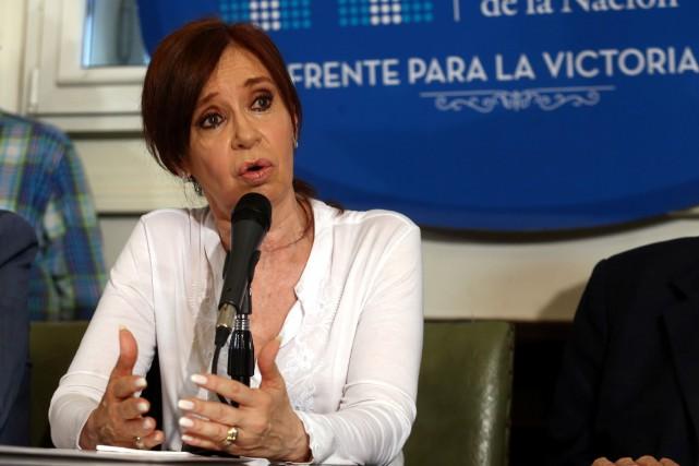 L'accusation du juge est «absurde», a réagiCristina Kirchner... (PHOTO REUTERS)