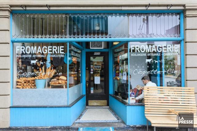 La fromagerie Copette et cie,rue Wellington... (PHOTO EDOUARD PLANTE-FRéCHETTE, archivesLA PRESSE)