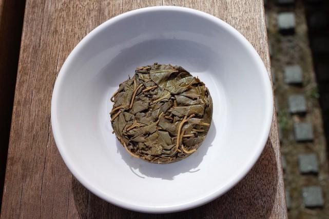 Un laphet fait de feuilles de bouleau par... (Photo tirée du site web du Nordic Food Lab, de Copenhague)
