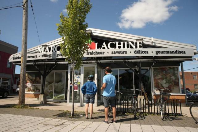 Le marché appartient à l'arrondissement de Lachine. En... (Photo Martin Chamberland, Archives La Presse)