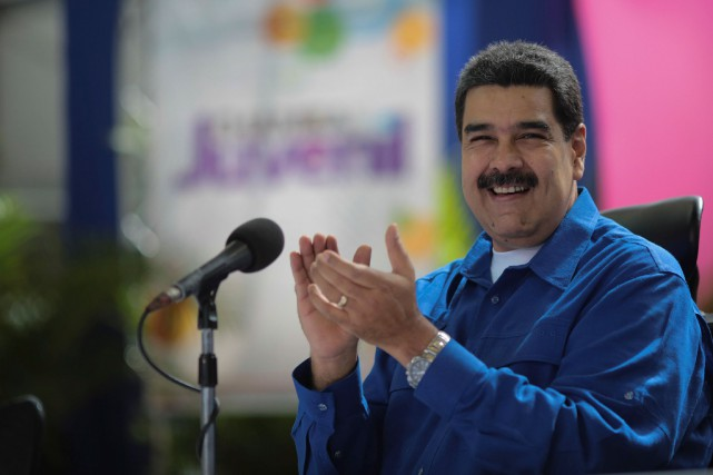 Nicolas Maduro... (Photo archives REUTERS)