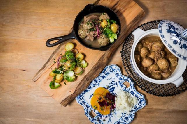 Il y a de ces plats à Noël... (Photo Olivier PontBriand, La Presse)