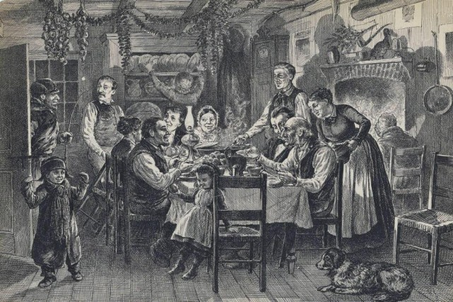 Le ragoût fait partie du menu des Québécois... (ILLUSTRATION ARCHIVES BIBLIOTHÈQUE ET ARCHIVES NATIONALES DU QUÉBEC)