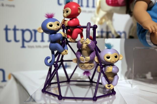 Les Fingerlings sont des bébés singes animés qui... (AP)