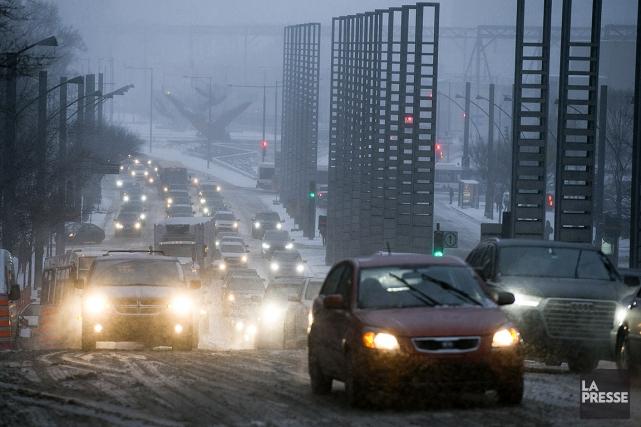 Tempête: carambolage près de Trois-Rivières et plusieurs accidents