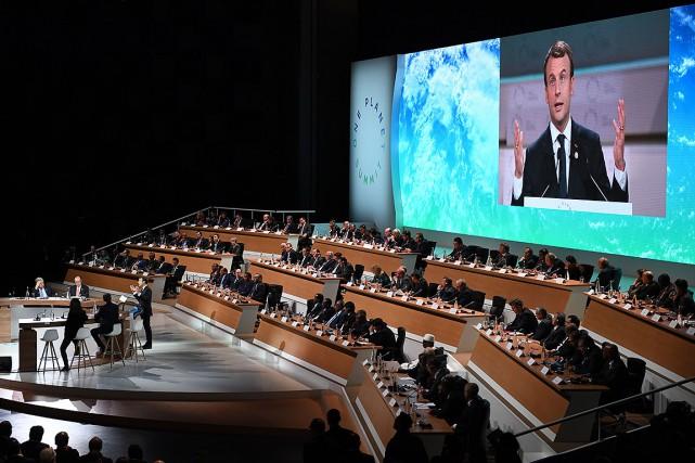 Le président français avait décidé d'organiser ce sommet... (Eric FEFERBERG, AFP)