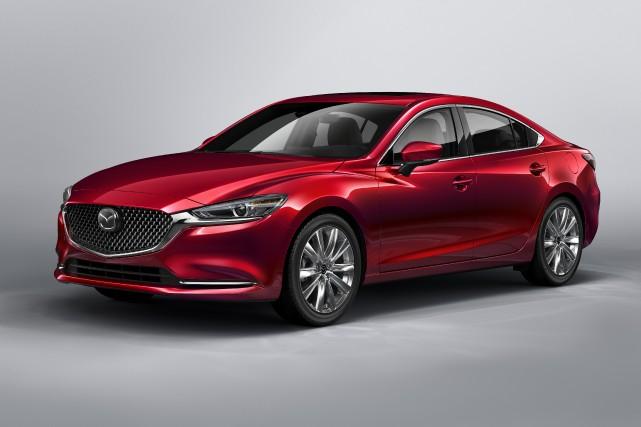 Cette Mazda6 pourrait être dotée du rouage intégral... (PHOTO FOURNIE PAR MAZDA)
