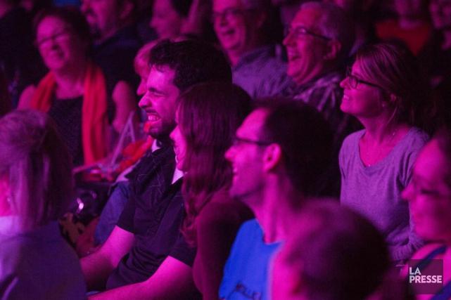 Le festival de la Coalition des humoristes, le... (PHOTO SIMONGIROUX, ARCHIVES LA PRESSE)