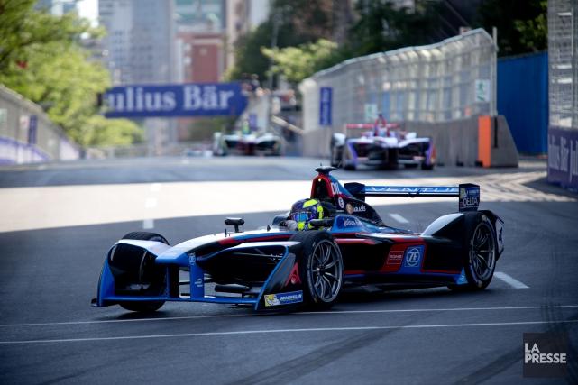 La course de Formule électrique de Montréal n'aura... (PHOTO SARAH MONGEAU-BIRKETT, ARCHIVES LA PRESSE)