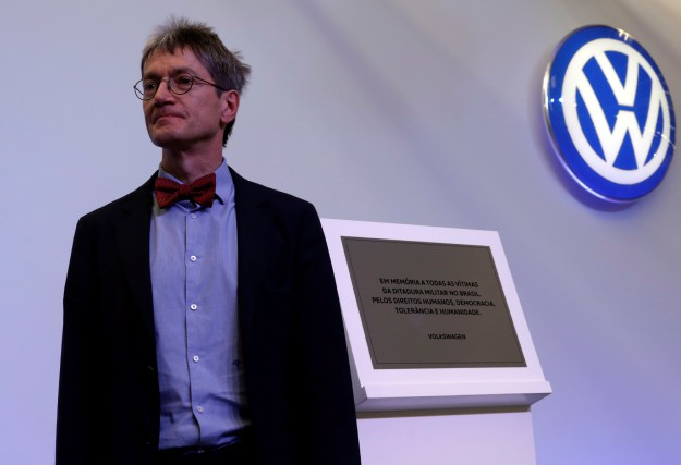 Christopher Kopper, un historien nommé par Volkswagen comme... (photo : REUTERS)
