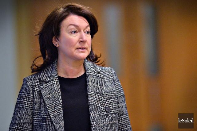 L'ex-vice première ministre du Québec, Nathalie Normandeau... (Photo Patrice Laroche, archives Le Soleil)